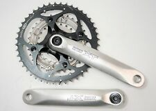SHIMANO DEORE XT BICYCLE 9 SPEED 175 MM 44/32/22 T OCTALINK V2 CRANKSET FC-M751