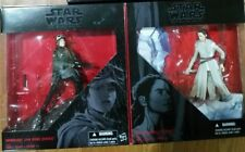 NEW Set of 2 Star Wars Rey & Sergeant Jyn Erso Figurine Black Series FREE SHIP