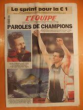 L'équipe N° 16721 du 9/2/2000-Paroles de champions-S.Bubka-M.Schumacher-L.Kjus