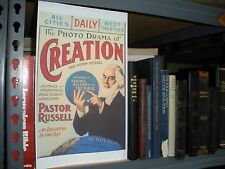 PHOTO-DRAMA OF CREATION POSTER  Watchtower Jehovah Bible Students IBSA