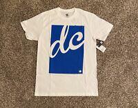 DC Mens Script Logo Graphic T-Shirt