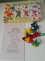 ENID BLYTON BOOKS CHARACTER NODDY FUZZY FELT! PLAY AND LEARN TOY!