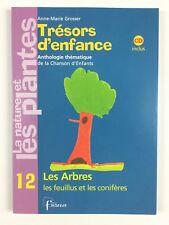 Trésors d'enfance 12 Les Arbres + CD / Livre Musique, Chansons Enfant, Fuzeau