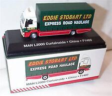 EDDIE STOBART MAN L2000 CURTAINSIDE F1460 CHINA 1:76 New Boxed