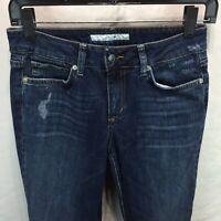 Joes Jeans Size 26 Muse Bootcut Distressed Denim Jolie Wash Stretch V10