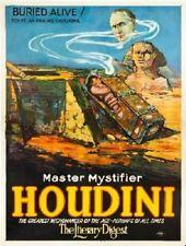 Houdini Buried Alive Poster 24in x 36in