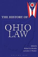 History Of Ohio Law (2-Vol. Cloth Set) (Law Society & Politics in the-ExLibrary