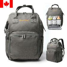 Large Capacity Mummy Bag Nappy Diaper Baby Maternity Nursing Travel Backpack