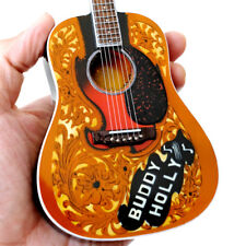 Buddy Holly Acoustic Signature Miniature Guitar Model Free Shipping