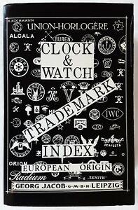 Clock & Watch Trademark Index. European Origin. 1992. ISBN: 0-933396-27-9