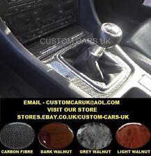 Audi A4 S4 Cabriolet Quattro Avant B6 00-06 Carbon Fibre / Walnut Wood Dash Kit