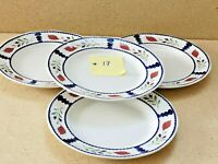 Adams Lancaster England  Plates Shallow Bowl Ironstone Set of 4~10.25'' W ~1''T