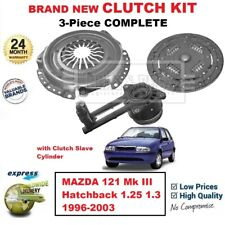 FOR MAZDA 121 Mk III Hatchback 1.25 1.3 1996-2003 BRAND NEW 3-PCCLUTCH KIT + CSC