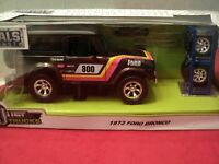 Jada 1973 Ford Bronco  NIB w/extra wheels   1/24 scale 2019  release brown