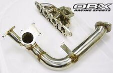 OBX Turbo Exhaust Manifold For 2000 01 02 03 04 Ford Focus 2.0L ZX3 ZETEC w/ DP