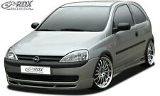RDX Frontspoiler OPEL Corsa C (-2002) Front Spoiler Lippe Vorne Ansatz