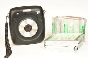 Fujifilm Instax Square SQ10 Hybrid Instant Print Film Camera & 4 Packs of Film 1