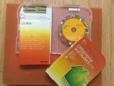 MiCROSOFT HOME AND STUDENT 2010 NEVER ACTIVATED NEW WITH BOX STILL IN PLASTIC
