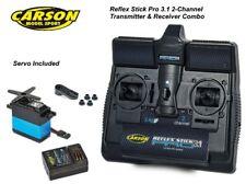 Carson Reflex Pro 3.1 RC Car Radio Control Tamiya Transmitter & Receiver + Servo