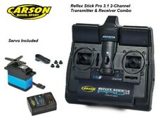 Carson Reflex Pro 3.1 RC coche Radio Control Tamiya Transmisor & Receptor + Servo