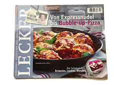 LECKER 10 Oktober 2012 EXPRESSNUDEL bis BUBBLE-UP-PIZZA * Schokolade * Henssler