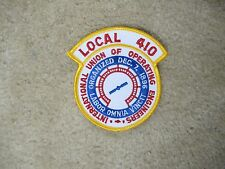 INTERNATIONAL UNION OF OPERATING ENGINEERS LOCAL 410  PATCH---008