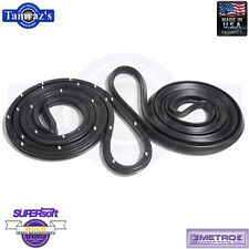 68-72 GM A Body Weatherstrip Seals Front 4 Door Sedan & Station Wagon LM12T