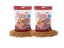 2Kg Chubby Dried Mealworm High Protein Wild Bird Chicken Food Treat