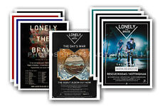 LONELY THE BRAVE - 10 promotional posters  collectable postcard set # 1