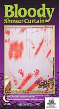Bloody Shower Curtain - Halloween Party Decoration Spooky Dead