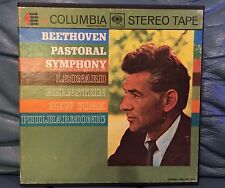 Beethoven Pastyoral Symphony NO.6 Leonard Bernstein Reel To Reel Tape Stereo