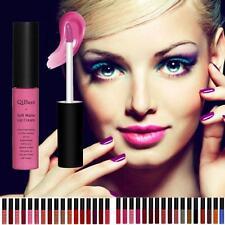 Waterproof Beauty Matte liquid lipstick Long Lasting Lip Gloss Qibest Lipstick