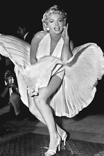 """New 5x7 Photo: Marilyn Monroe in """"The Seven Year Itch"""", Famous White Dress"""
