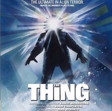 THE THING Ennio Morricone / John Carpenter  2 CD COMPLETE SOUNDTRACK
