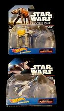 NEW Mandalorian Talon Fighter & Imperial AT-ACT Hot Wheels Star Wars Starships