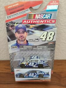 2015 Great Racers Jimmie Johnson Lowe's 1/64 NASCAR Authentics Spinmaster