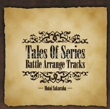 New 0989 TALES OF SERIES BATTLE ARRANGE TRACK SOUNDTRACK CD Song Music Anime