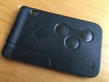Used Renault Megane 3 Button Remote Key Fob Card