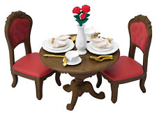 Sylvanian Families Calico Critters Town Series Dining Table & Dinnerware Set