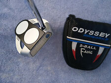 Odyssey 2 Ball Fang Tank 34 inch Super Stroke Grip excellent