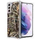 For Samsung Galaxy S21 /S21 5G- Clear TPU Bumper Shockproof Case -1
