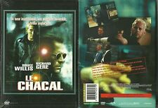 DVD - LE CHACAL avec RICHARD GERE, BRUCE WILLIS / NEUF EMBALLE - NEW & SEALED