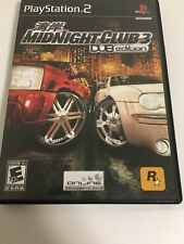 Midnight Club 3: DUB Edition (Sony PlayStation 2, 2005) Complete Black Label!