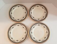 MINTON GRASMERE LOT OF 4 BLUE SALAD PLATES VERY GOOD CONDITION
