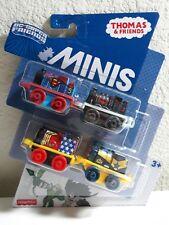 Thomas & DC Super Friends Minis 4 Train Pack