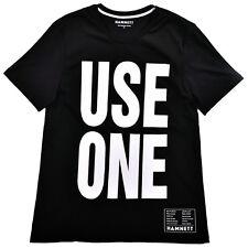 Hamnett Use One T-Shirt in Black Katherine Hamnett SAVE THE WORLD