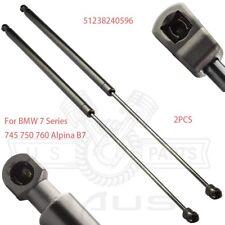 2 Front Hood Gas Lift Supports Struts Pops For 02-09 BMW 745i//Li 750i//Li 760i//Li
