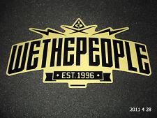 Authentic grandi WETHEPEOPLE WTP EST 1996 biciclette Adesivo/Adesivo Aufkleber #60