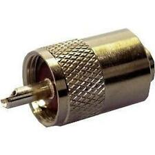 PL259 CONNECTOR PLUG FOR 7MM CABLE - RG8 / MINI 8 1st class post