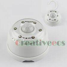 Auto PIR 6LEDs Infrared Motion Detector Wireless Sensor LED Light Lamp With Hook
